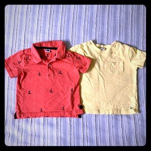 Janie and Jack Baby Boys' Shirts - bundle of 2!